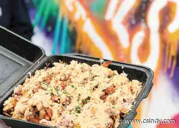 Crabalicious Crab Fries wow at Luchal's Catering