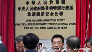 Beijing opens security office opens in HK - Wingham Chronicle