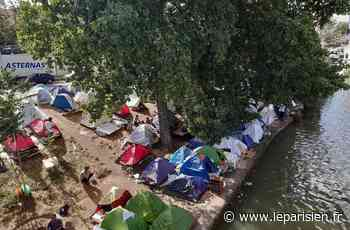 Aubervilliers-Saint-Denis : quel avenir pour les 800 migrants réinstallés sur les rives du canal ? - Le Parisien
