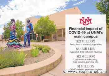 'Incredibly depressing' outlook for UNM finances - Albuquerque Journal
