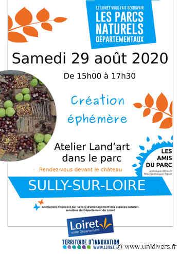 Création éphémère – Land'Art Parc de Sully-sur-Loire samedi 29 août 2020 - Unidivers