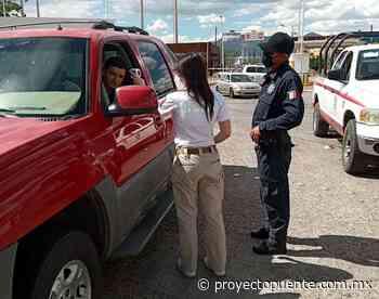 Controlan paso de turistas de EEUU por Agua Prieta, no cruzaron 280 vehículos el fin de semana - Proyecto Puente
