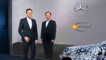 Batteriezellenwerk in Bitterfeld-Wolfen: Mercedes-Benz steigt bei Batteriezellenhersteller Farasis ein - elektroniknet.de