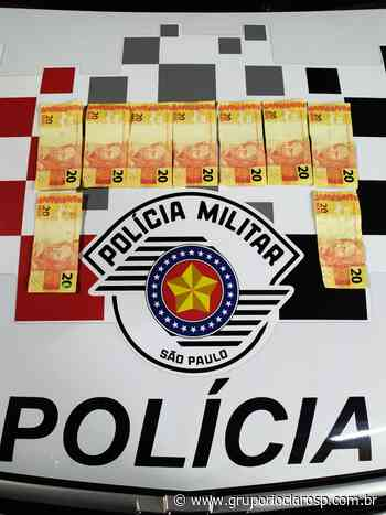 PM detém indivíduo com dinheiro falso em Santa Gertrudes - https://www.gruporioclarosp.com.br/