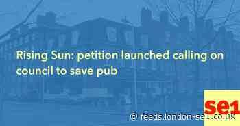 Rising Sun: petition launched calling on council to save pub