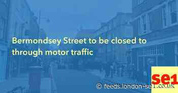 Bermondsey Street to be closed to through motor traffic