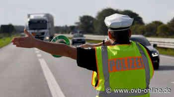 Kontrolle auf A8 bei Siegsdorf: Zu schnell, keine Sicherung und technische Mängel - Oberbayerisches Volksblatt
