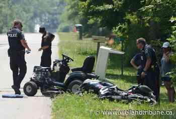 Port Colborne motorcycle-riding lawnmower crash still under investigation - WellandTribune.ca