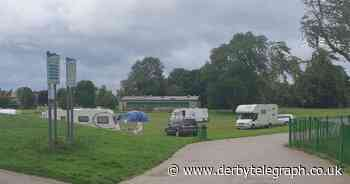 Council to consider making Derby park more secure after traveller chaos - Derbyshire Live