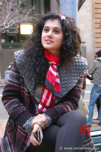 Taapsee Pannu is back to work amid Covid-19 pandemic - Social News XYZ