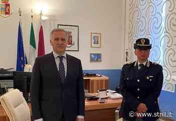 Il Questore di Catanzaro dà il benvenuto alla d.ssa Immacolata Acconcia, nuovo dirigente della Divisione PASI - Strill.it