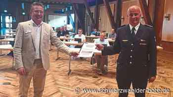 Baiersbronn: Für die Feuerwehr gibt's jede Menge Lob - Baiersbronn - Schwarzwälder Bote