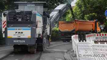 Sperrung auf der L85 in Bohmte dauert noch knapp zwei Wochen - noz.de - Neue Osnabrücker Zeitung