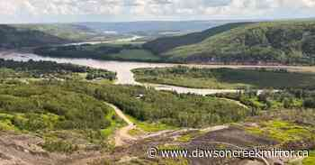 Old Fort landslide update - July 7, 2020 - Dawson Creek Mirror
