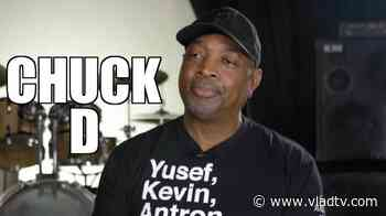 EXCLUSIVE: Chuck D on Producing Ice Cube's 1st Album After Cube's Beef with NWA - VladTV