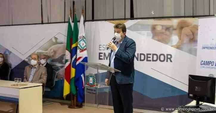 Prefeito de Campo Bom testa positivo para Covid-19 - Jornal Correio do Povo