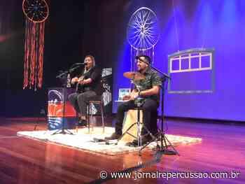 Artistas de Campo Bom sobem ao palco do CEI no primeiro final de semana do projeto Cultura em Casa - Jornal Repercussão