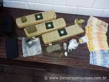 Brigada Militar de Campo Bom flagra jovem com quase três quilos de maconha - Jornal Repercussão