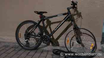 Polizei stellt bei Kontrolle in Schwandorf neuwertiges Mountainbike und Flachbildfernseher sicher - Wochenblatt.de