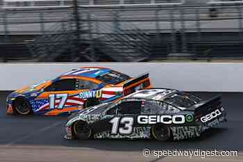 Dillon and GEICO military team hustle to 14th place finish at the Brickyard - Speedway Digest