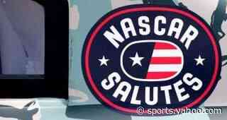 Austin Dillon, NASCAR Salutes honor Lt. Col. Tuepker's work with USO donation - Yahoo Sports