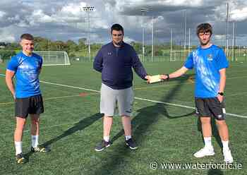 Fundraising: Darryl Foley raises €1280 - Waterford FC - Waterford FC Official Website