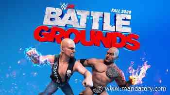 WWE 2K Battlegrounds Set For September 18 Release, Cover Art Revealed