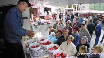 Sondershausen: Marktschreier kommrn auf Festplatz - Ostthüringer Zeitung