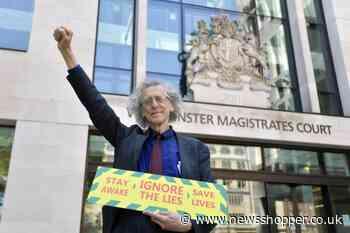 Piers Corbyn to protest coronavirus 'hoax' in Lewisham