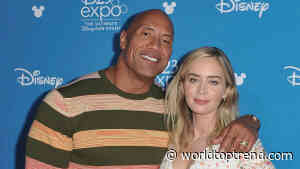 Dwayne Johnson and Emily Blunt are teaming up for new superhero movie Ball and Chain based on 1990 - World Top Trend