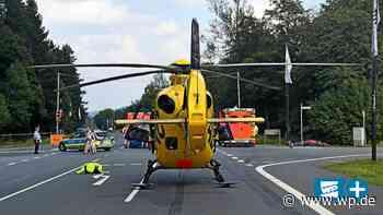 Bikefahrerin aus Winterberg nach Unfall in Klinik geflogen - Westfalenpost