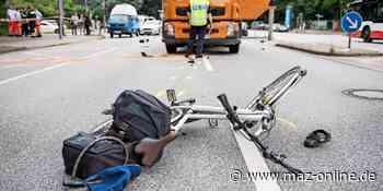 Nach Kollision in Stahnsdorf: Mercedes-Fahrer lässt schwer verletzten Radler liegen - Märkische Allgemeine Zeitung