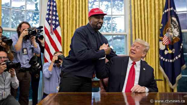 Kanye West says he no longer supports Trump and that he had coronavirus