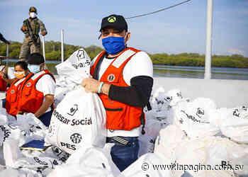 Bienestar Social entrega paquetes alimentarios a habitantes de Puerto El Triunfo - Diario La Página - Diario La Página
