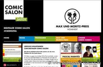 Neue Plattform für Sprechblasen - Comic-Salon Erlangen im Netz - Stuttgarter Zeitung