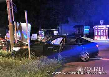 Verkehrsunfall auf dem Einsiedlerhof: Zu viel Alkohol getrunken - Wochenblatt-Reporter