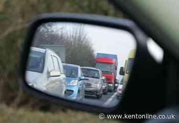 Multi-vehicle crash on M2