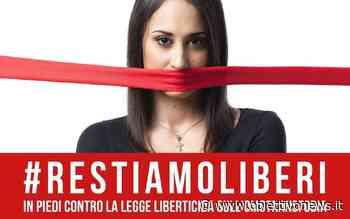 RIVAROLO CANAVESE – In Piazza contro il ddl sull'omotransfobia - ObiettivoNews