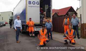 Bisher größte Spendenfahrt: Mehrere Tonnen Hilfsgüter nach Ungarn geschickt - Wochenblatt-Reporter