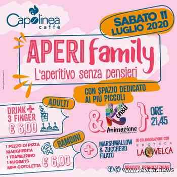 Tarquinia, sabato 11 luglio torna l'APERIfamily al Capolinea Caffé, tra zucchero filato, marshmallow e spritz etrusco! - lextra.info