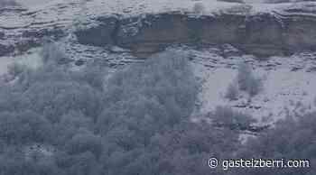 La Llanada y Vitoria se levantan nevando • GasteizBerri.com - GasteizBerri.com