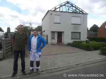 Schildersbedrijf wil uitgebrand huis gratis opnieuw onder ha... (Dessel) - Het Nieuwsblad