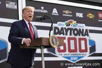 Trump tees off on NASCAR, Bubba Wallace for flag removal, noose 'hoax' - WJXT News4JAX