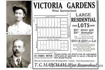 Summerland subdivision was developed in 1912 – Sicamous Eagle Valley News - Sicamous Eagle Valley News