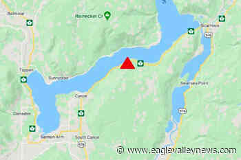 Vehicle incident stalls traffic on Highway 1 east of Salmon Arm - Sicamous Eagle Valley News