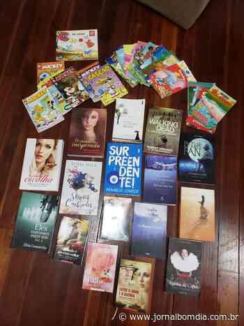 Notícias   Notícias: jacutinga-biblioteca-livros-livres-recebe-novos-exemplares - Jornal Bom Dia
