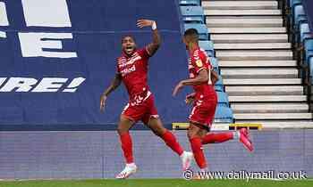 Britt Assombalonga and Ashley Fletcher score as Middlesbrough earn vital win at Millwall