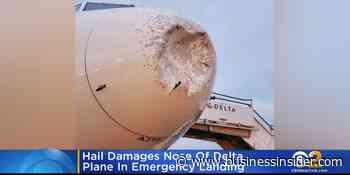 Delta Air Lines plane emergency landing after hail strike in New Jersey - Business Insider - Business Insider