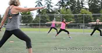Outdoor fitness classes start Monday - Delta-Optimist