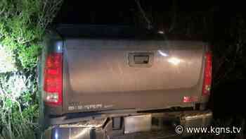 Border Patrol agents recover stolen vehicle being used to transport illegal aliens - KGNS